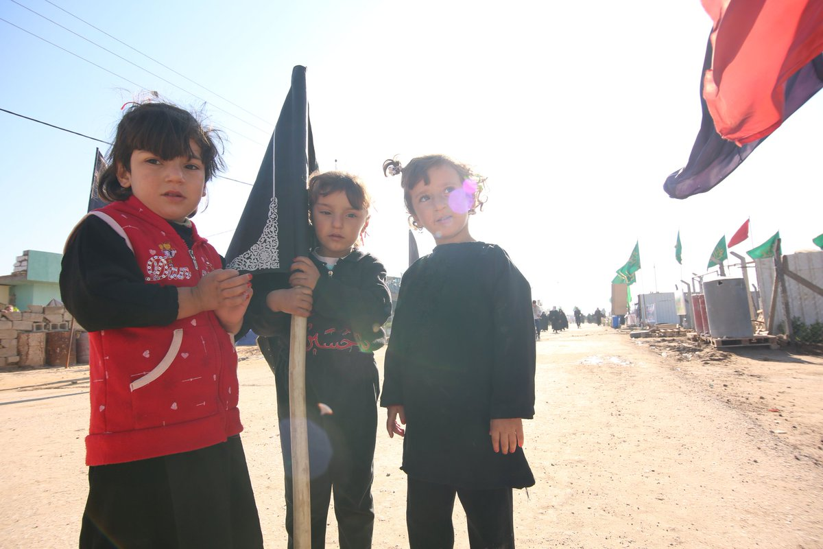 There's so much love in the Arbaeen walk; I don't think the participants of this march have anything more valuable than brotherhood in common!  #Arbaeen2019  #MondayMood <br>http://pic.twitter.com/6vHfDJMCjy