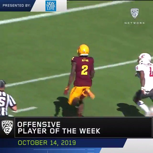 🎩 Hat Trick ➡️ Pac-12 Offensive Player of the Week 😈 🔱 Congrats @THE2ERA‼️