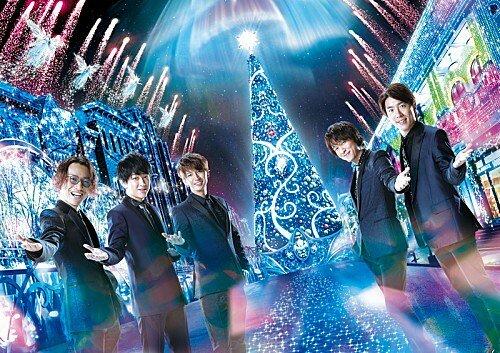 関ジャニ∞、『ユニバーサル・クリスタル・クリスマス』のアンバサダーに