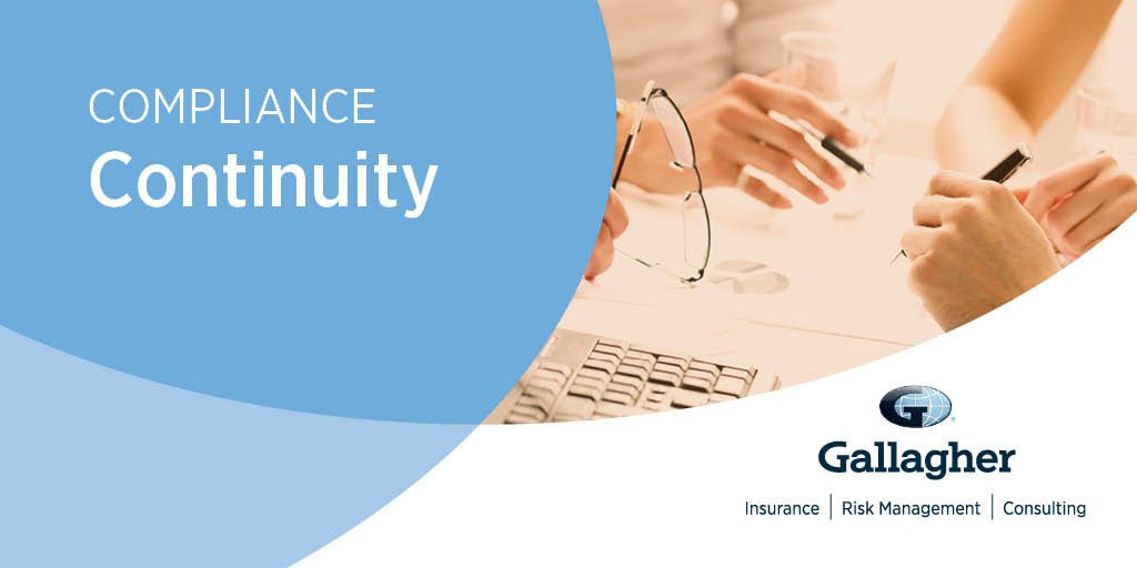 Noncompliance with laws & regulations that apply to your employee benefits offerings can have large monetary consequences. In this months edition of Compliance Continuity, we offer guidance to help you prioritize your employee benefits compliance efforts bit.ly/2oIUGaz
