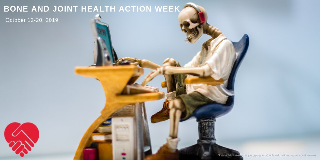 "This week is Bone and Joint Health Action Week.""Bone and joint conditions are the most common cause of severe long-term pain and physical disability worldwide affecting hundreds of millions of people.""#candsstaffing #Bones #Joints #Health #Nurses #Caregivers #Medicare"