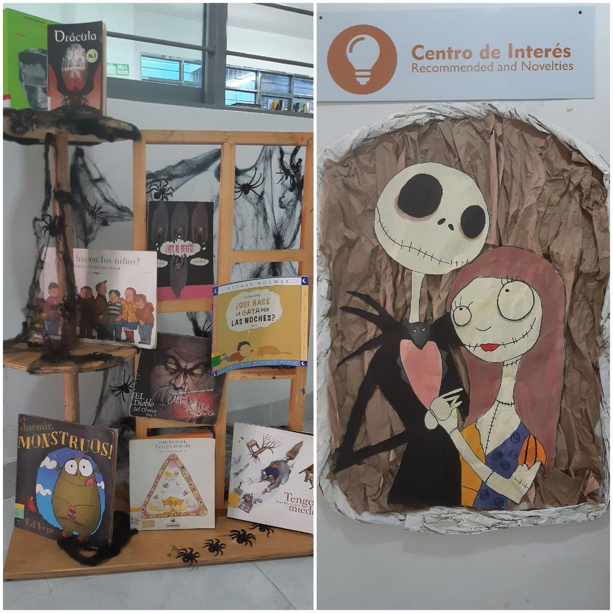 Les presentamos nuestro Centro de Interés del mes de octubre con cuentos infantiles y literatura acorde a la temática del mes. #FelizLunes #Halloween #CaliCo @RNBPColombia @BibliotecaNalCo