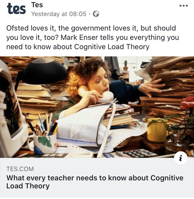A fab article on CLT in TES tes.com/news/how-usefu…