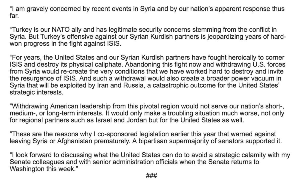 We must avoid strategic calamity in the Middle East. My statement: republicanleader.senate.gov/newsroom/press…