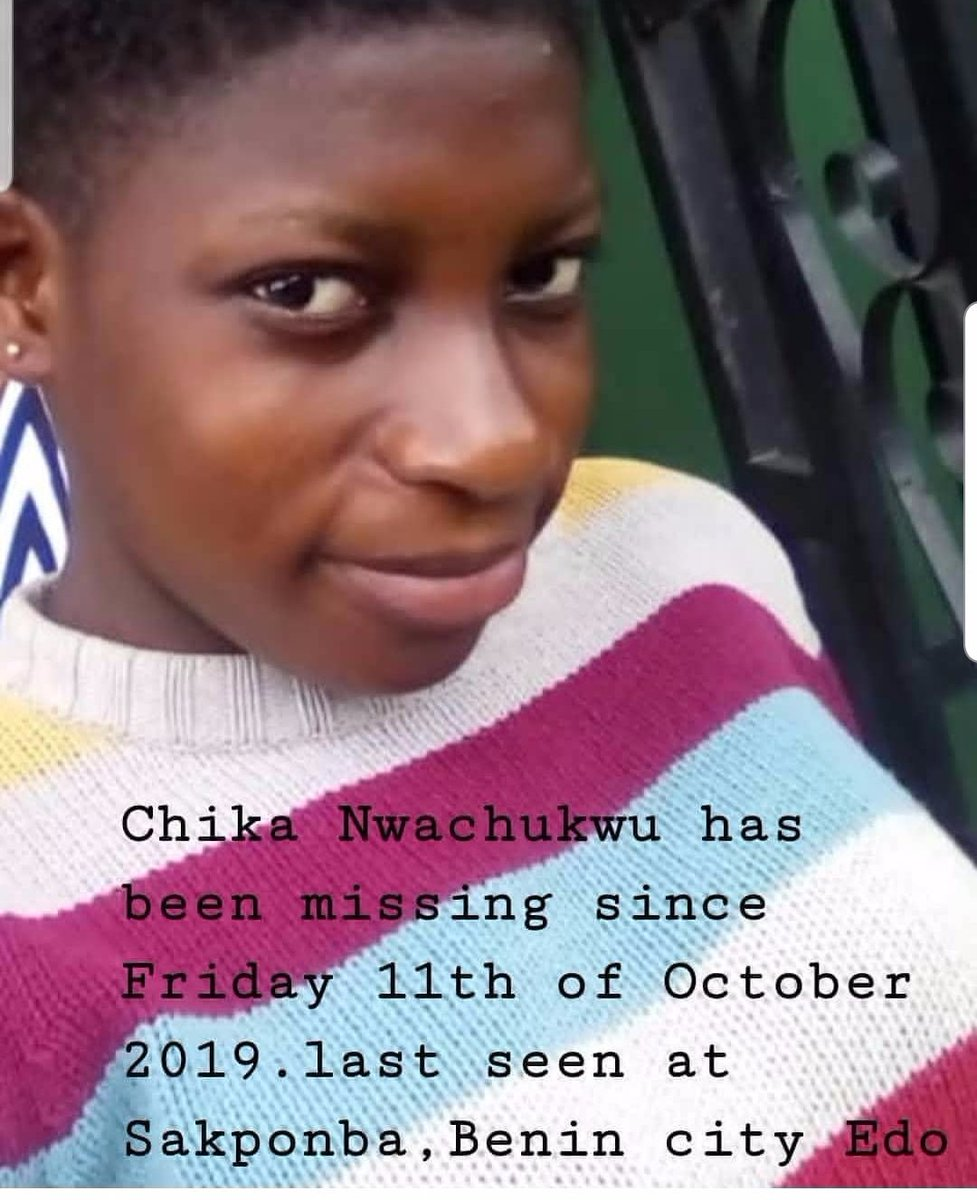 Please Twitter Family My cousin has been missing Friday. She went to the market and never returned..Please help me retweet there is nothing to like about the tweet please retweet.#kemen #BULENG # @Gidi_Traffic @trafficbutter #Liverpool #lagostraffic