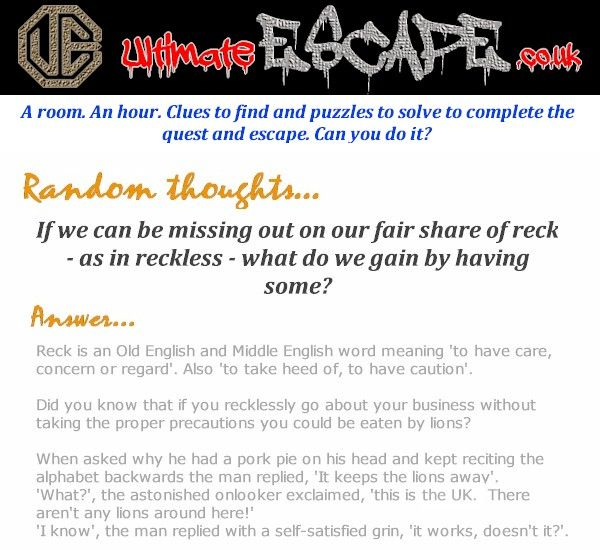 Have you experienced the thrill of escaping? http://www.ultimateescape.co.uk #puzzle #escape #northwalestweets #funandgames