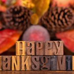 To my Canadian friends: Happy Thanksgiving!