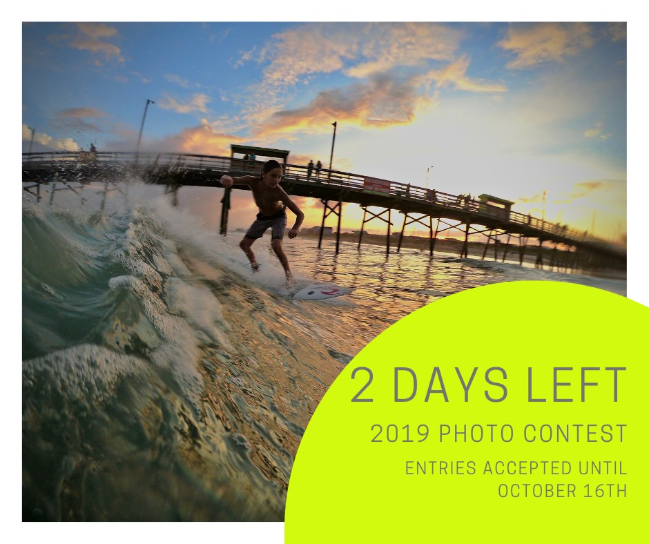 Only 2 days left to enter Bluewater Vacation Rental's Crystal Coast Photo Contest for a chance to win an Oceanfront Beach Vacation!  Enter Here:  https:// woobox.com/s834uj     <br>http://pic.twitter.com/ArX8xpAZQe