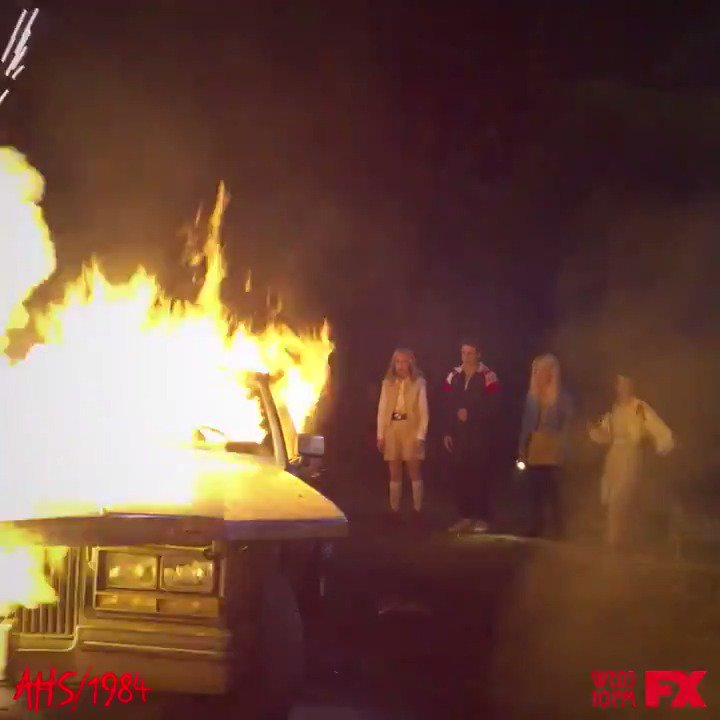 Their summer plans are going up in flames. #AHS1984 https://t.co/cXDDK78ECa