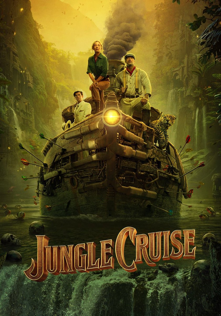 Jungle Cruise Trailer Featuring Emily Blunt & Dwayne Johnson