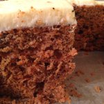 Are you Miss'n the healthy Delicious Carrot Cake the way we baked it in the 60's with tons of Cream cheese icing and everything Healthy & yummy inside (but no nuts).... SOLLY'S!