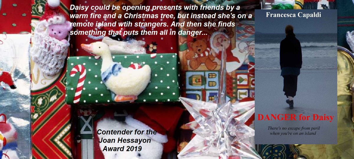 It started as a festive adventure, but now there's no escape... Danger for Daisy, available on Kindle at  https:// amzn.to/2kxdvvi     #ChristmasReads #TuesNews @RNAtweets<br>http://pic.twitter.com/Xy8fEeI4w4