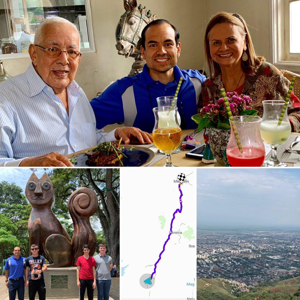 Viernes 11 de octubre: 24 horas en Cali, mi ciudad natal, con tres buenos amigos que querían conocerla. La Sucursal del Cielo siempre vibrante de cultura, fe, alegría, familia y exquisita gastronomía.#Cali#ValleDelCauca#Familia#Amistad