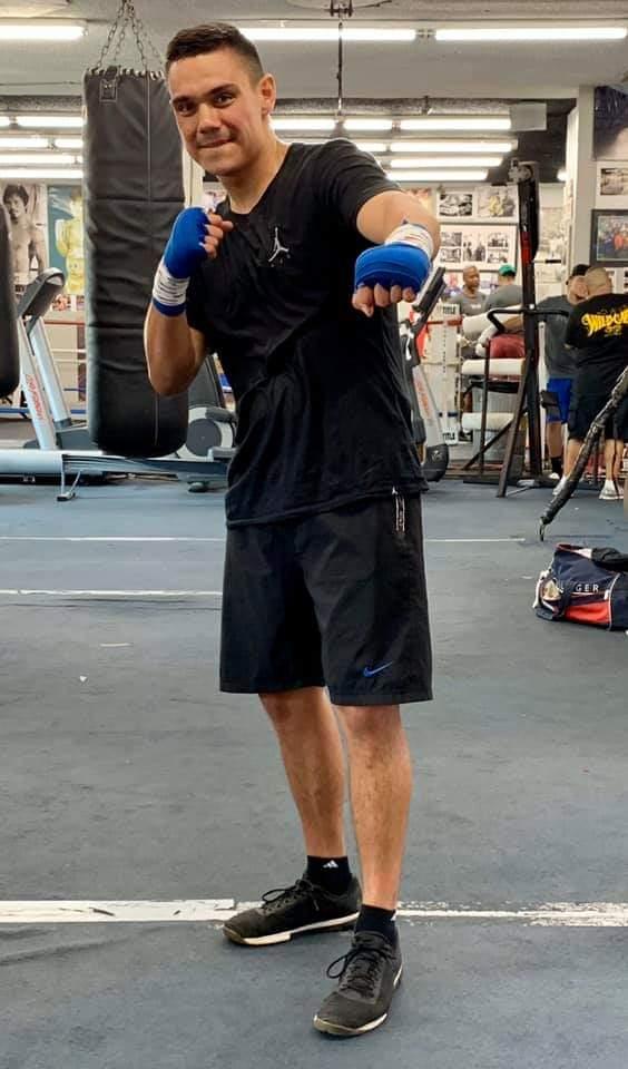 Week 2 session 1 Back with Freddie Roach at  Wildcard Gym LA No shortcuts  TT2