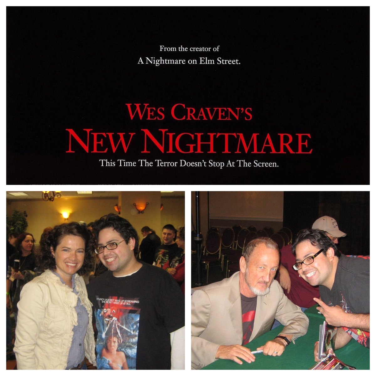 One of the best films in the #NightmareOnElmStreet  franchise premiered 25 years ago today. The 7th film, aptly named Wes Craven's #NewNightmare  was an instant hit & classic w/ fans & critics alike and blurred the lines b/w fiction & reality. #WesCravensNewNightmare  @LangenkampH
