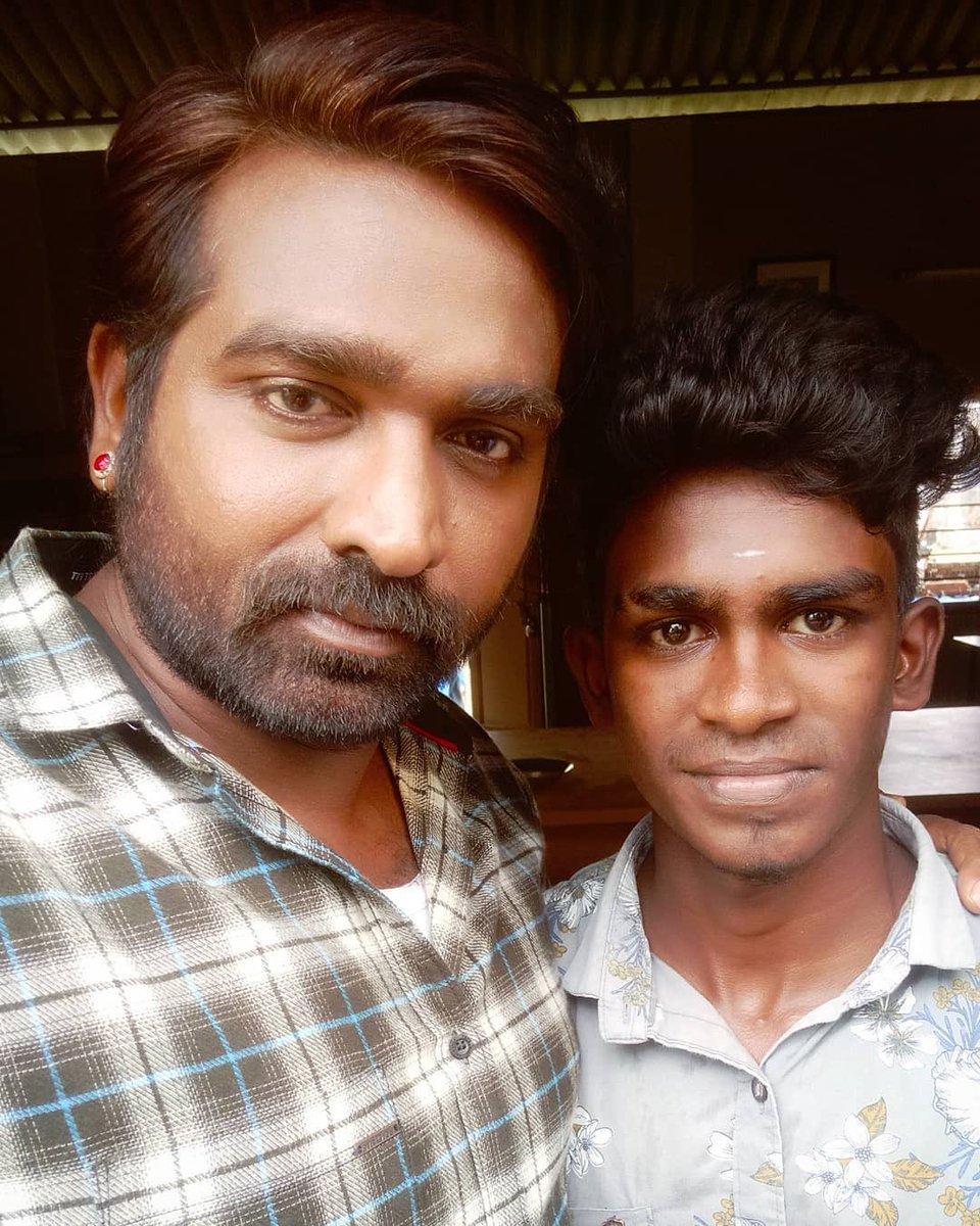 From the sets of #Laabam with @VijaySethuOffl  📸: @Vinothsmart19 . #MakkalSelvan #VijaySethupathi #VijaySethupathy #Kollywood
