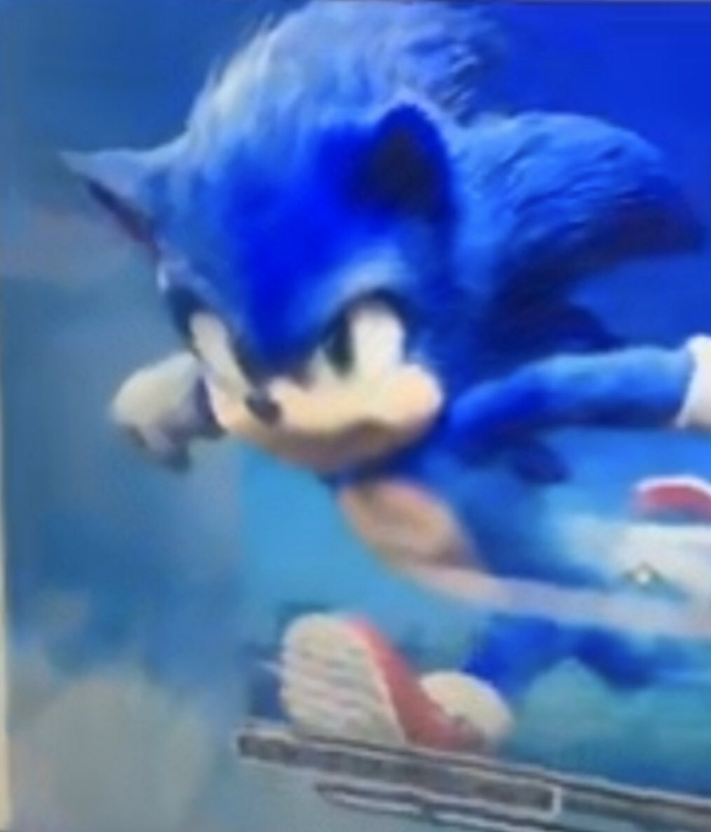 If this is the final resdesign for the Sonic film it's a HUGE improvement, bravo to the team for listening. <br>http://pic.twitter.com/ZMZzTmC5eq