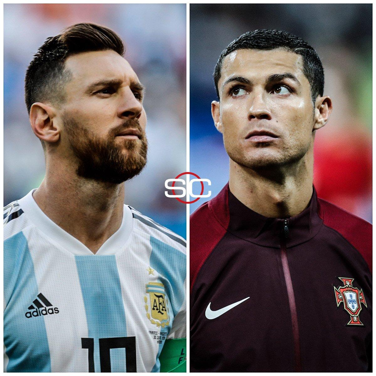 Los que marcaron un antes y un después: ¿quién sumará más goles a lo largo de su carrera? 🇦🇷 Messi lleva 672 con 32 años 🇵🇹 CR7 lleva 700 con 34 años