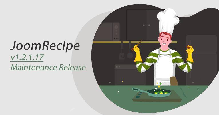 JoomRecipe v1.2.1.17 - Maintenance release  Read more here:  https://www. joomboost.com/blog-updates/j oomrecipe-v1-2-1-17-maintenance-release.html  …   #joomla #wordpress #cms #php #bootstrap #webdev #webdevelopment #css #joomlaextension <br>http://pic.twitter.com/bHG8XnVP2u