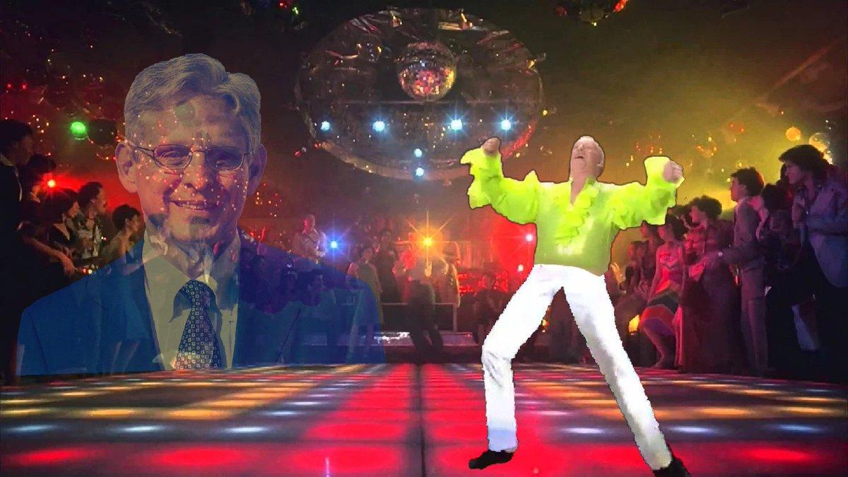 Sean Spicer dances to honor the memory of Merrick Garland