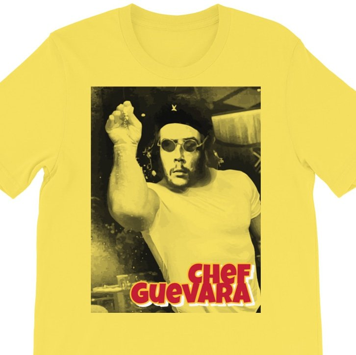 Comediante Eterno Chef Guevara https://store.ikeplus.com/product/chef-guevara-short-sleeve-unisex-t-shirt/…  #socialismsucks  #capitalism #RepublicanCampaignSlogans #Republican #CheGuevara #cuba #miami #LeftistHypocrites  #Hialeah