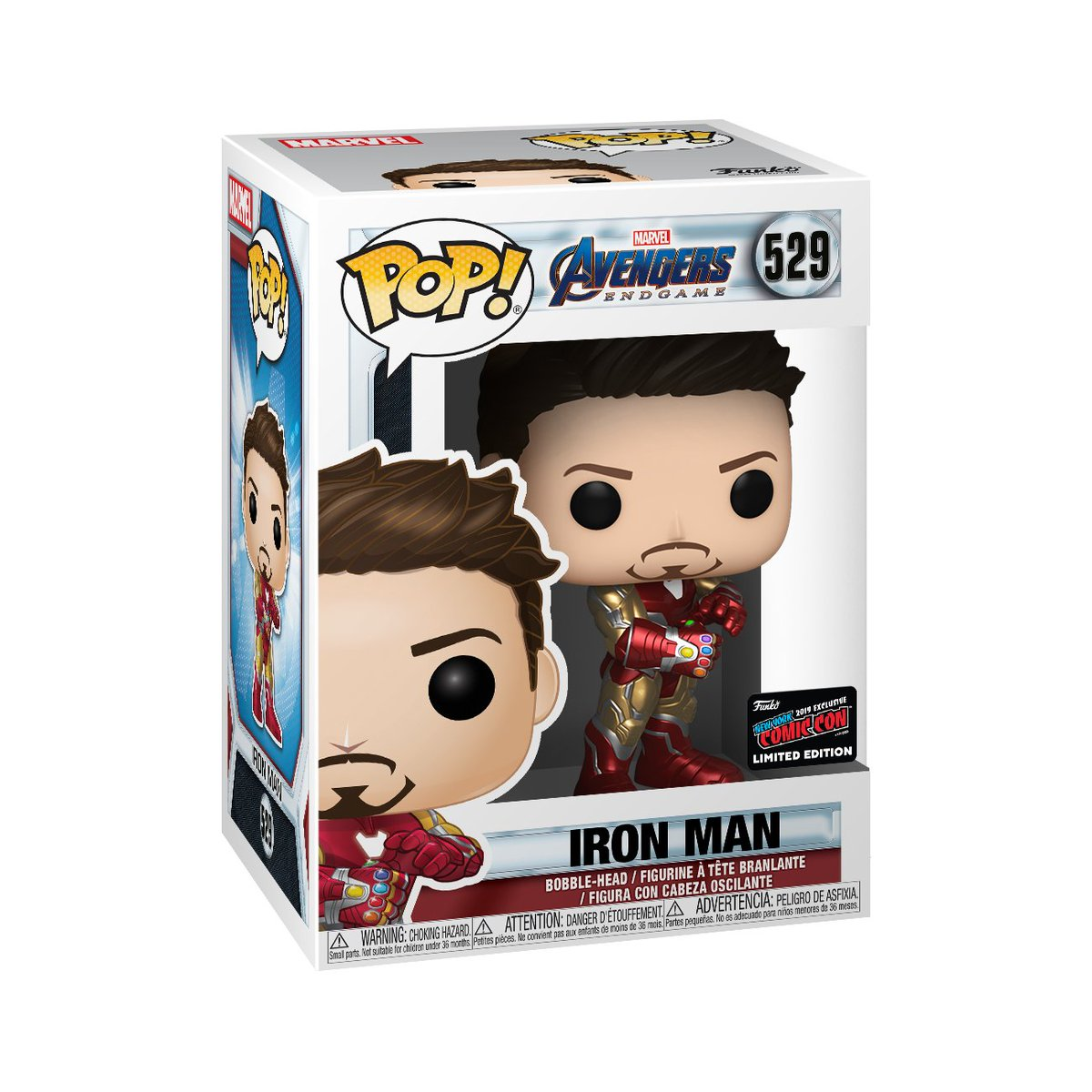 RT & follow @OriginalFunko for a chance to WIN a 2019 #NYCC exclusive Iron Man Pop! #Funko #Exclusive #Giveaway #FunkoNYCC #NYCC #Marvel