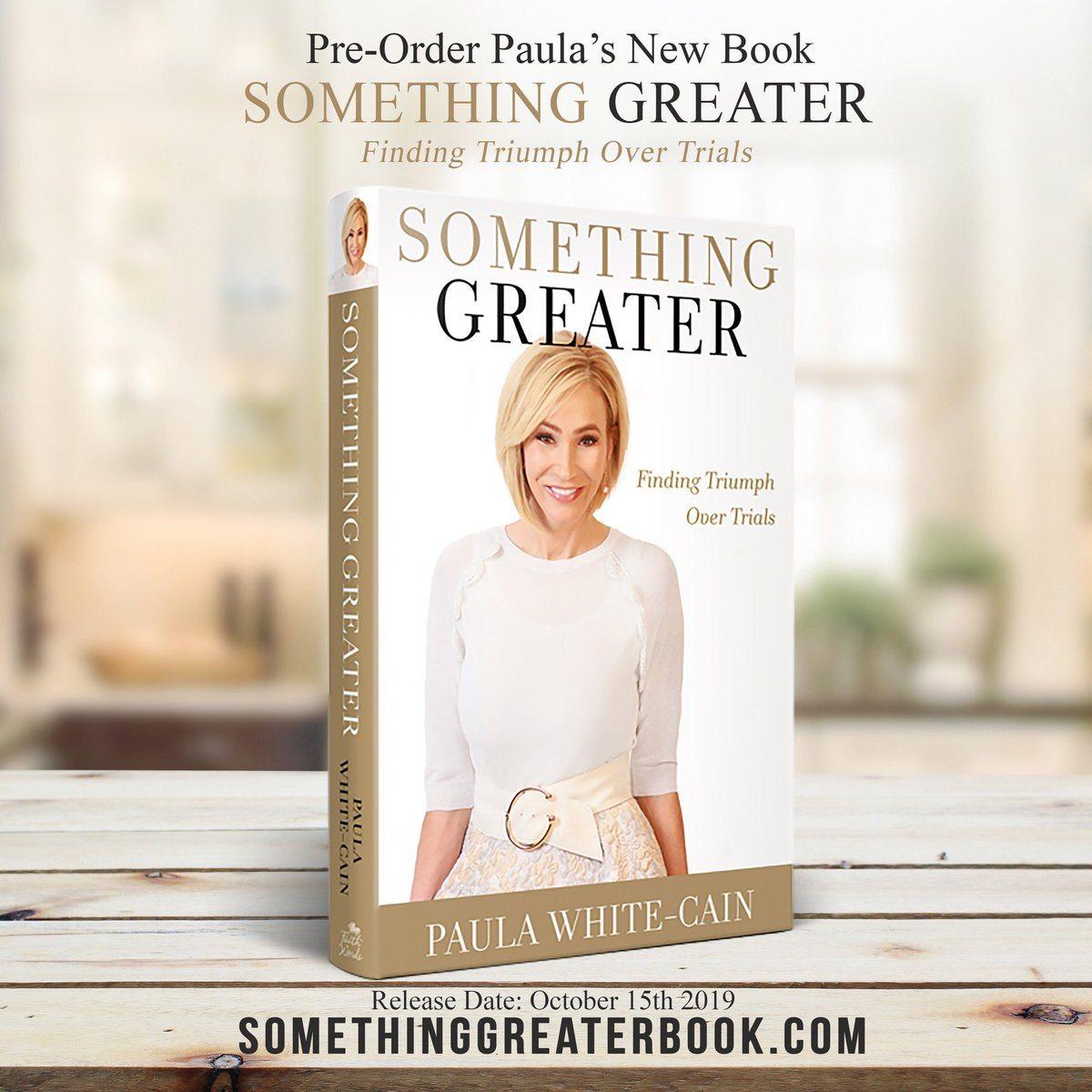 .@Paula_White has led an interesting life and now serves as a trusted advisor to @realDonaldTrump. She has a new book coming out tomorrow that you might want to check out! twitter.com/paula_white/st…