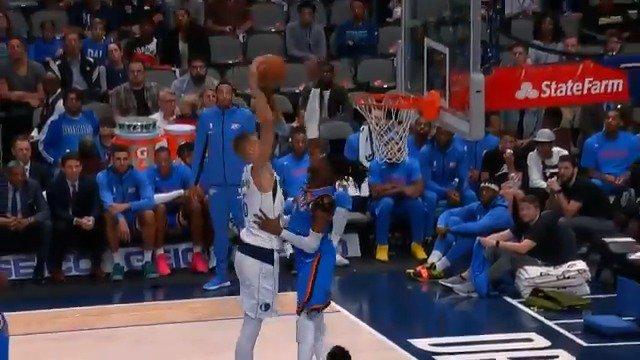 #RT @NBA: Rim protector... Nerlens Noel! 💪  #NBAPreseason