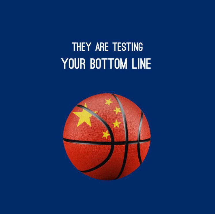 @HawleyMO I never think this NBA drama is about #hongkong, is about are American and western world can have freedom of speech and liberty to speak their voice out!  It is obviously Chinese money is forcing everyone to shut up, self-censored and we are already in 1984 now.... https://t.co/qtQ0rJgkLM