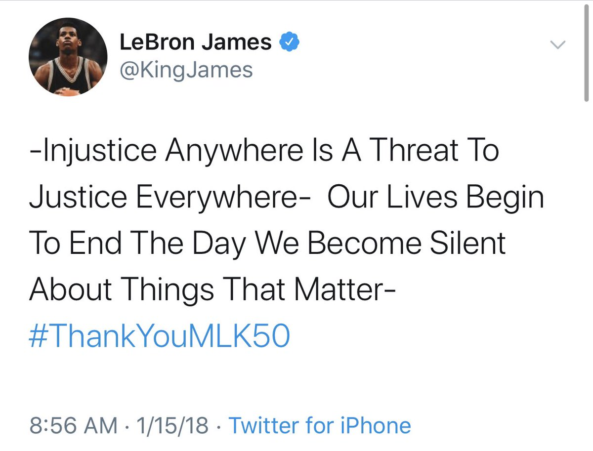 lebron james on twitter \