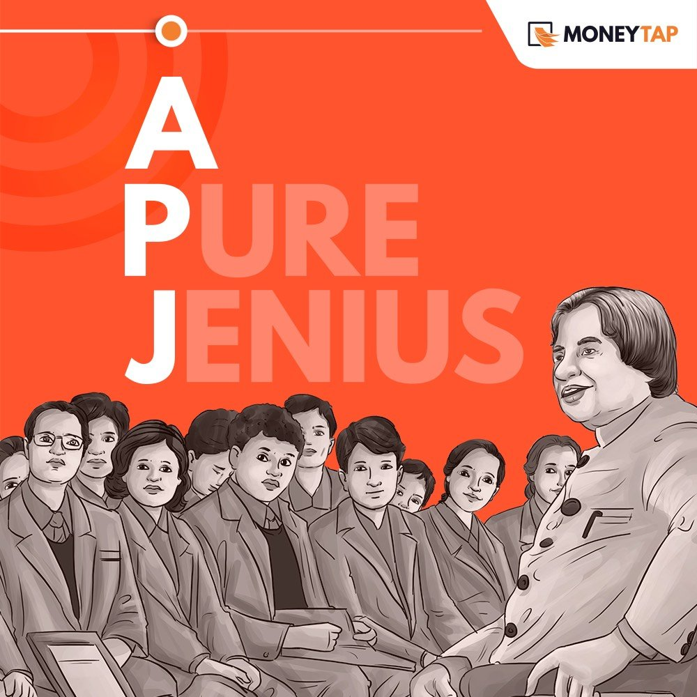 """""""You were born with wings. Don't Crawl. Learn to use them to fly and fly."""" To the man who ignited millions of minds. Happy birthday, Dr. Kalam.  #MoneyTap #APJABDULKALAMBIRTHDAY #APJAbdulKalam #Missileman #MissileManOfIndia<br>http://pic.twitter.com/cJNcCOp7tN"""
