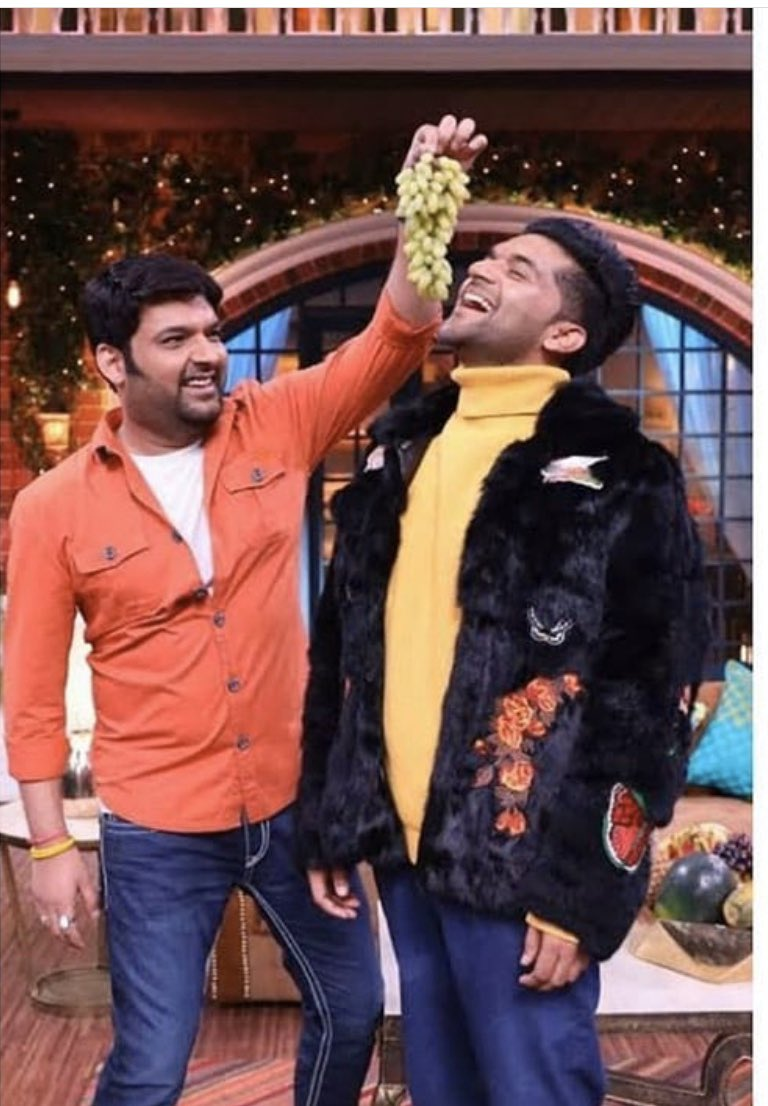 Just found this picture @KapilSharmaK9 paji. Love you paji 🙏😊 See you soon