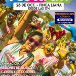 Image for the Tweet beginning: La carrera de colores #FestiRun