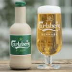 Carlsberg have taken their new Tagline 'In pursuit of better beer' to a whole new sustainable level by testing paper bottles #carlsberg #betterbeer #sustainability #Sustainable #marketing