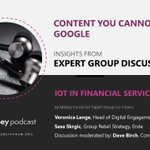 Image for the Tweet beginning: 'IoT in Financial Services' podcast