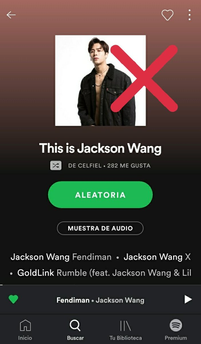 """Pay attention if you search: """"This is Jackson Wang"""" to follow the right  playlist created by spotify, there is another one with the same name unofficial  Link  https:// open.spotify.com/playlist/37i9d QZF1DZ06evO0J1nl2?si=5TCren-CQreMrY5rBH4wuA  …   #JacksonWang #Spotify #MIRRORS #JacksonWang1stAlbum #BULLETTOTHEHEART<br>http://pic.twitter.com/4tIcGRjXsY"""