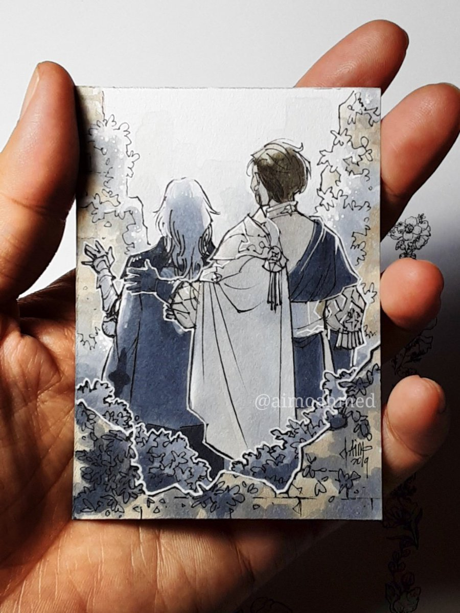 """We'll walk, no, run towards that bright future for Fodlan from here."" #inktober #Inktober2019 #fe3h #FE風花雪月 #ClaudeVonRiegan #Byleth<br>http://pic.twitter.com/vPLdQzL2Su"