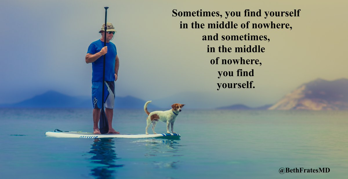 Sometimes you find yourself in the middl of nowhere, and sometimes in the middle of nowhere you find yourself. 🙏 #TuesdayThoughts #TuesdayMorning #TuesdayMotivation #JoyTRAIN #IAM #mindset #hope #MindBody #Mindfulness