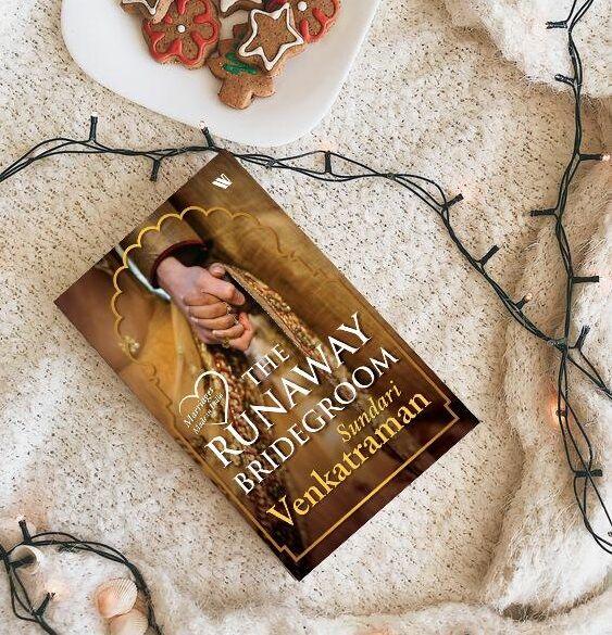 The Runaway Bridegroom by @SundariVenkatraman  @Westland_Books  Available on Amazon: https://amzn.to/2QnCBMA  #TheRunawayBrideGroom #SundariVenkatraman #Romance #Contemporary #BookishElf #ReadersLoveBook #Bookstagram #Bookstagrammer #BookWorm #IGBooks #IGReads #Books #Reader