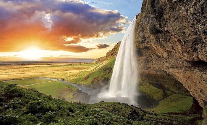❦You are never alone—for love, sorrow and joy flow from the waterfall of each heart to merge with the river of all humanity, and from thence into the sea of all that is. ~Anne Scottlin #empathy #Seljalandsfoss #Iceland #love #lonely #joy #tuesdaymotivation