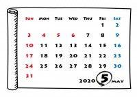 月 カレンダー 20205 2020年カレンダー|2020年祝日一覧|月の形(満ち欠け/月相)・旧暦・月齢・潮名|家勉キッズ