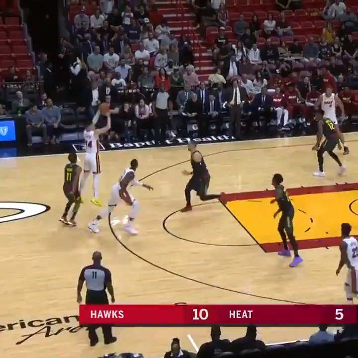 #RT @NBA: 👀 @raf_tyler (23 PTS, 5 3PM) and @TheTraeYoung (23 PTS) duel as the @MiamiHEAT defeat ATL at home! #NBAPreseason