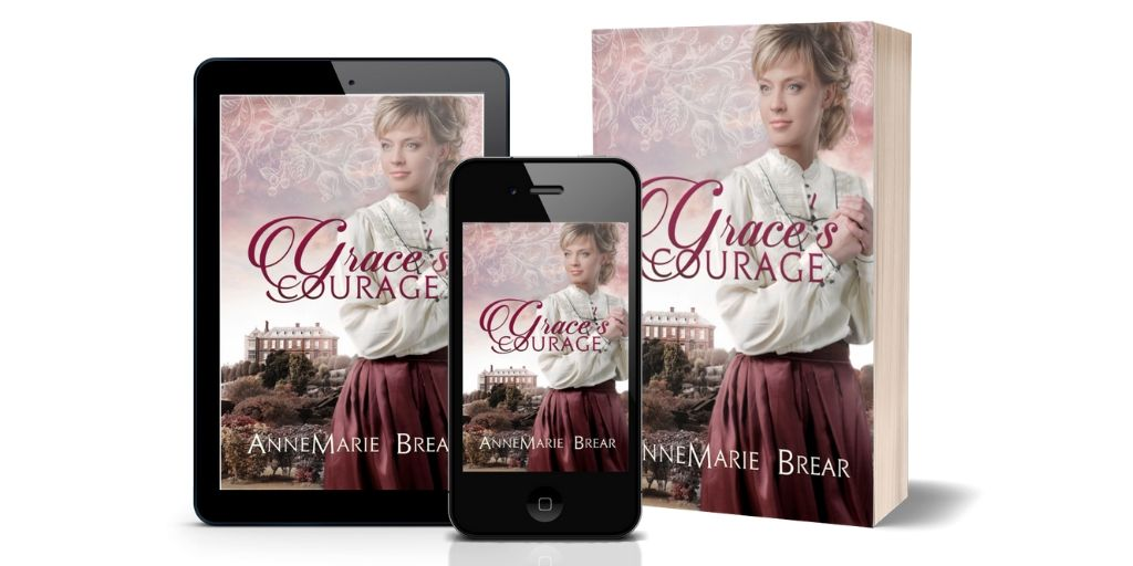 Grace's Courage - ebook/pbk/audio Can she protect her sisters from their evil father? #Victorian  #Yorkshire #saga #Leeds #historical http://myBook.to/GracesCourage