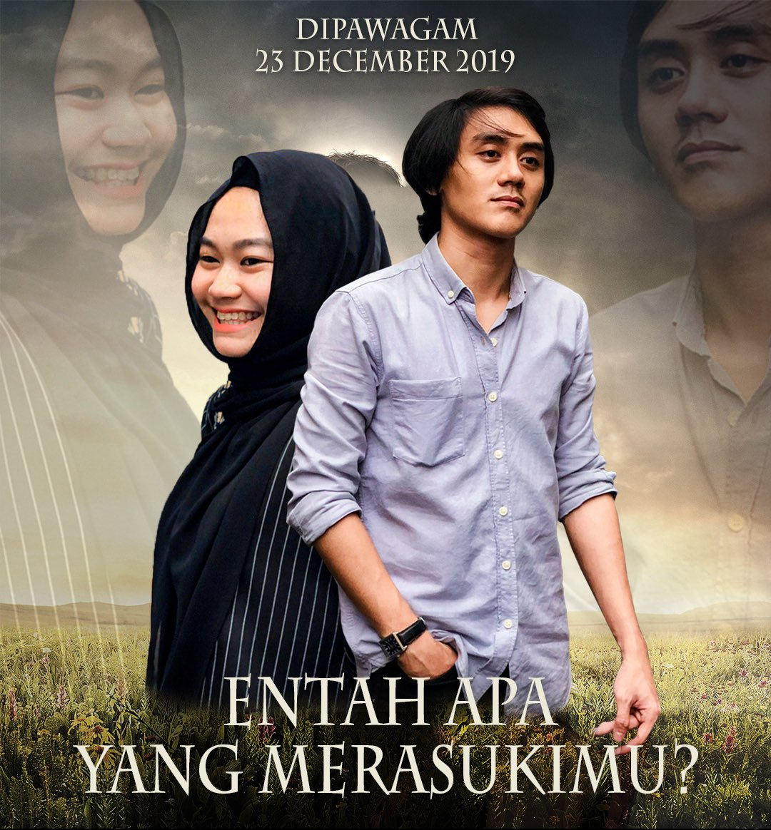 "IT'S HERE! The official movie poster ""Entah Apa Yang Merasukimu?""!  Streaming FREE December 23rd on  https:// bit.ly/32bClS9     <br>http://pic.twitter.com/DN4waPzq4p"