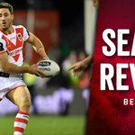 Image for the Tweet beginning: Season review | Dragons halfback