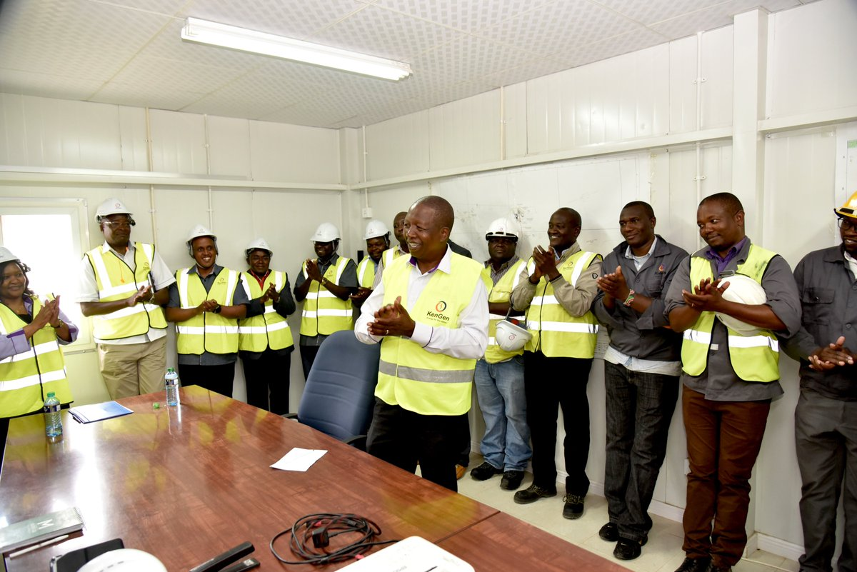 KenGen has a workforce of about 2500 employees with experience in various disciplines. We are driven by innovation under the Good-To-Great (G2G) strategy catalyzing employee-driven inventions with many firsts from Olkaria.^ZB #KenGenBuildingOnTalent<br>http://pic.twitter.com/dqMeFQJHlm