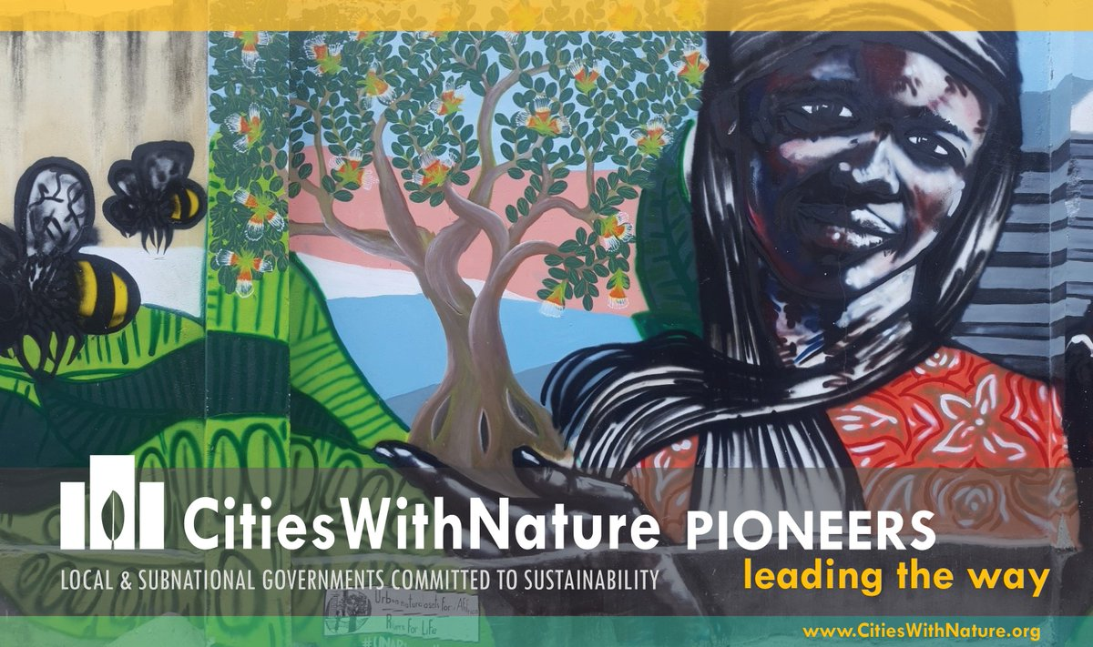 RT @CitiesWNature #CitiesWithNature #LeadingTheWay on mainstreaming #nature in #cities.  #DaresSalaam is using the power of art through a new, vibrant mural to communicate the value of nature & how it benefits people in cities.   More on @ICLEI: https://t.co/ezj62oXd99 @MyDaressalaam #Tanzania