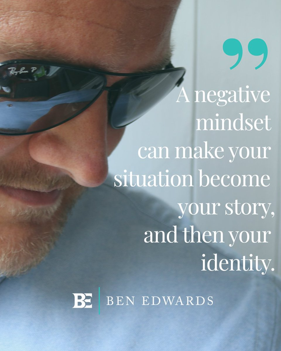 Don't let a negative mindset define you. Comment with a 👍🏻 if you are committing to a positive mindset today.#relationshipcoach #lifecoachben #loveyourself #trueidentity #happiness #truelove #rejuvenate #life #change #positivity #inspiration #goals #confidence #belief #happy