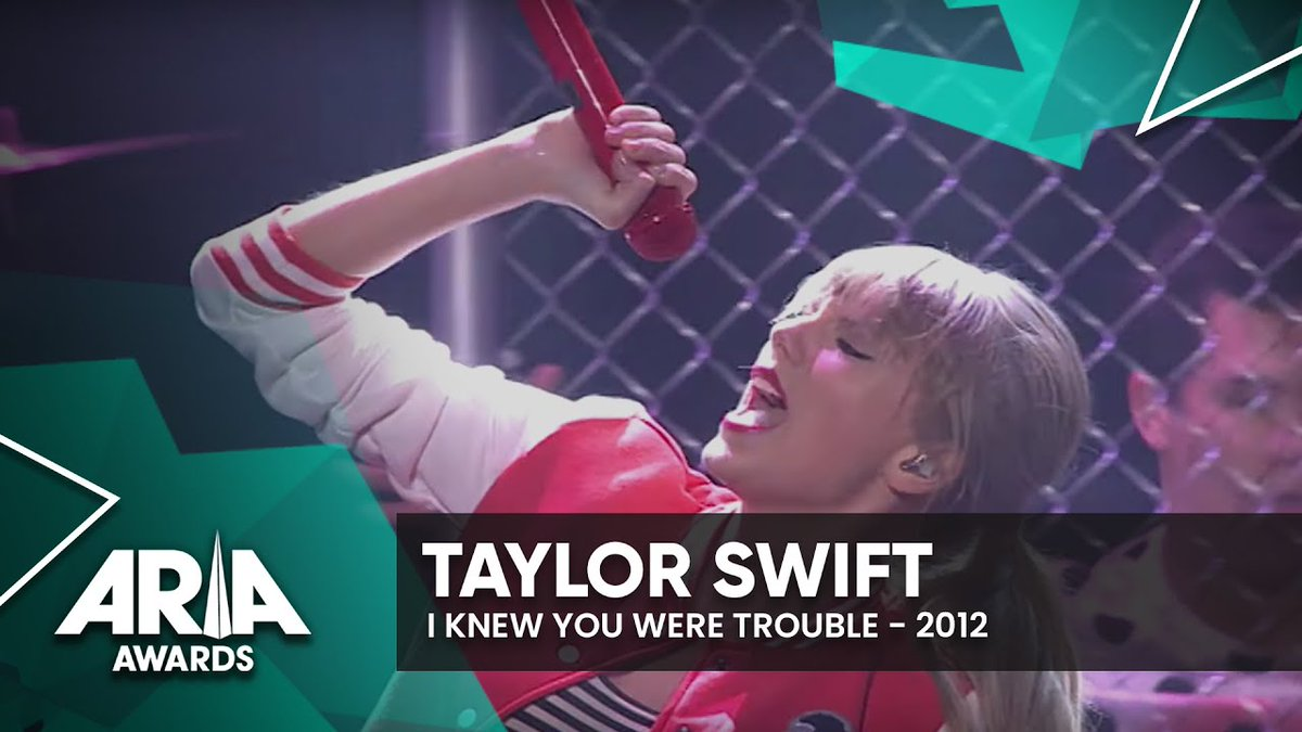 .@taylorswift13 is no stranger to the #ARIAs, having been our special guest in 2012, when she performed I Knew You Were trouble.  https:// youtu.be/-o4zyV6dXGM      This year, she's up for Best International Artist. To vote, simply use the hashtag #ARIAsTaylorSwift<br>http://pic.twitter.com/sV095t202U