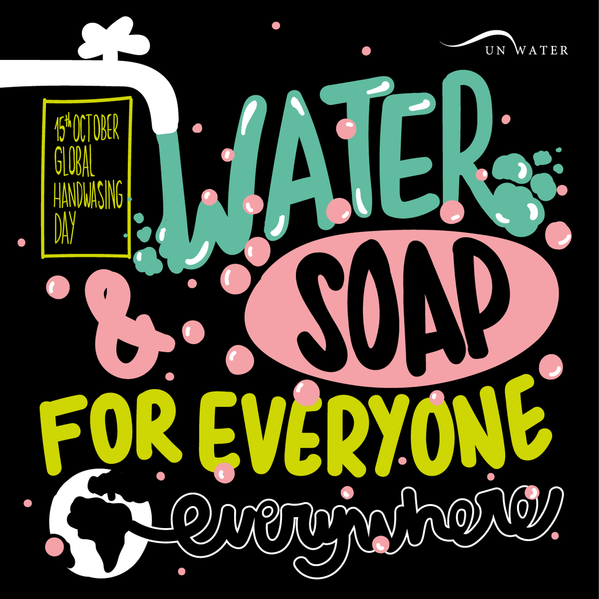 #CleanHandsforAll means that everyone, everywhere has access to soap and water to wash their hands.  Yet, only 1 out of 3 have basic handwashing facilities with soap and water at home. This #GlobalHandwashingDay, we must leave no one behind. https://buff.ly/2Vmtj2d
